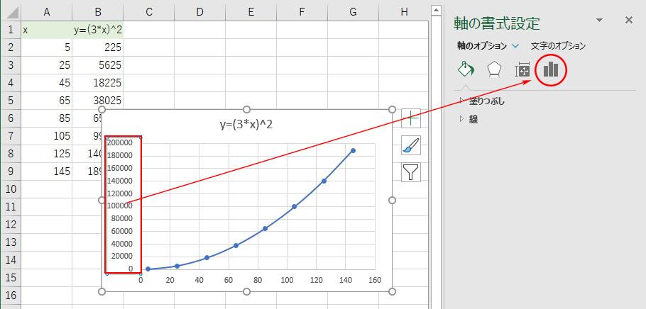 対数 エクセル グラフ 作り方 片 第2軸を使った片対数グラフがおかしい?:エクセル Q&A(Tips)